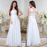 """Платье белое свадебное, вечернее длинное, платье на роспись """"Феодосия"""", фото 1"""