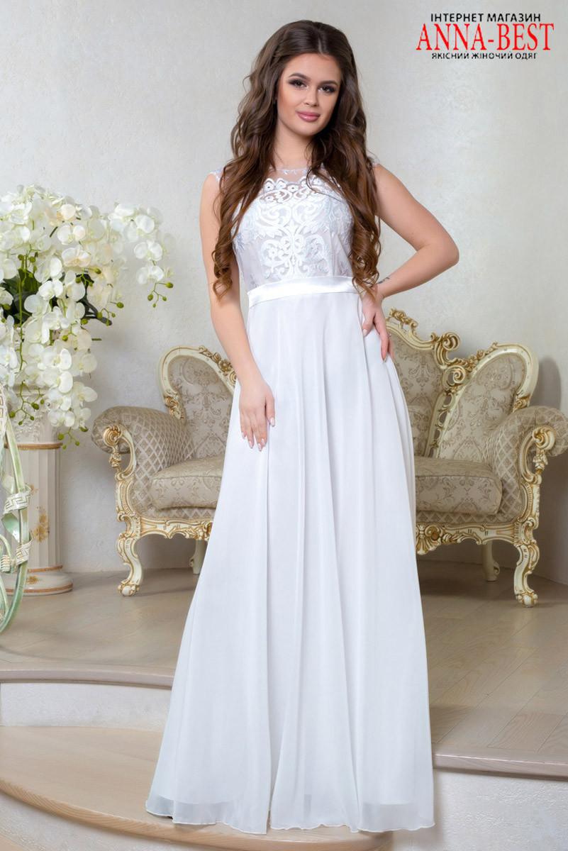 8889e7701de Платье белое свадебное