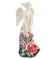 Фарфоровая cтатуэтка Ангел с цветами (Pavone) JP-247/21. Пасхальные сувениры, фото 1
