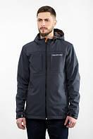 Куртка мужская весенняя WM7 Softshell Graf с капюшоном, на флисе (осень-весна, демисезонная), фото 1