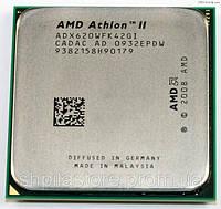 МОЩНЫЙ Процессор AMD SAM3, am2+  ATHLON II X4 620 - 4 ЯДРА  ( 4 по 2.6 Ghz каждое ) am3, SAM2+