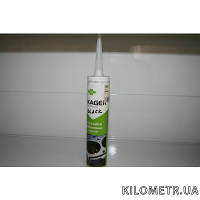 Герметик силиконовый черный маслостойкий ПОД ПИСТОЛЕТ 310мл - -55С +280С