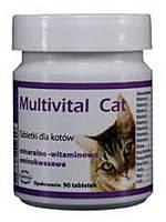 Dolfos Multivital Cat-витаминная добавка для кошек 90таб (190-90), фото 2