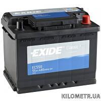 Аккумулятор   55Ah-12v Exide CLASSIC(242х175х190),R,EN460
