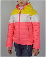 Куртка для девочки  112 весна-осень, размеры на рост от 116 до 140 возраст от 5 до 10 лет, фото 1