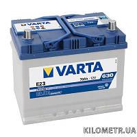 Акумулятор   70Ah-12v VARTA BD(E23) (261х175х220),R,EN630