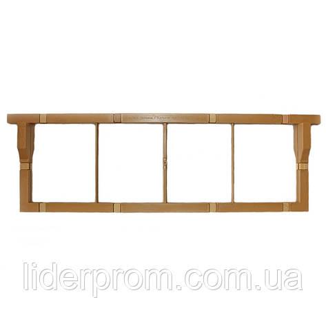 Рамка  Магазинная пчеловодческая полимерная многоразовая (полурамка), фото 2