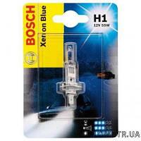 Автолампа H1 12v  55w   Xenon Blue Bosch