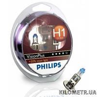 Автолампа H1 12V 55W P14,5S VISIONPLUS +50% к-т 2 шт