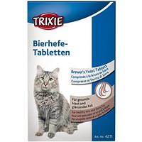Trixie TX-4211 Bierhefe-Tabletten 50г- витамины для котят с пивными дрожжами
