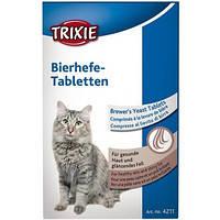 Trixie TX-4211 Bierhefe-Tabletten 50г- витамины для котят с пивными дрожжами, фото 2