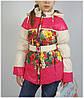 Куртка для девочки  HL 1563 весна-осень, размеры на рост от 116 до 140 возраст от 5 до 10 лет
