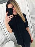 Женская стильная удлиненная блуза (2 цвета), фото 5