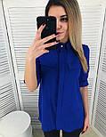 Женская стильная удлиненная блуза (2 цвета), фото 2