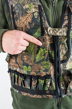 Жилет камуфляжный Зеленый Дуб для охоты, фото 2