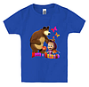 Детская футболка МАША И МЕДВЕДЬ(2)