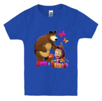 Детская футболка МАША И МЕДВЕДЬ(2), фото 2