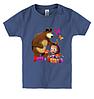 Детская футболка МАША И МЕДВЕДЬ(2), фото 3