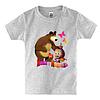 Детская футболка МАША И МЕДВЕДЬ(2), фото 4