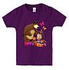 Детская футболка МАША И МЕДВЕДЬ(2), фото 5