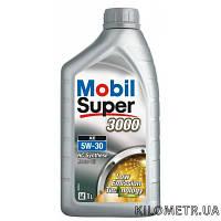 Масло моторное Super 3000  5W-30 MOBIL Super 3000XE 1л