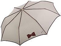 Женский зонт, полуавтомат, H. DUE. O 253 бежевый