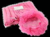 Шапочка однор. на одной резинке,розовый, 100шт,космет.ASTRA