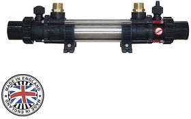 Теплообмінник Elecro G2I HE 122 кВт (incoloy)