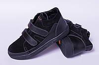 Ботинкикожаные подростковые, кожаная детскаяобувь от производителя модель ДЖ7009