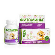 Фитомины Гематокэт  для котят, 100таб.