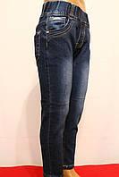Стрейчевые весенние джинсы для детей. Возростная группа от 2 до 8 лет (86-128см.). Niebieski. Польша.
