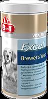 8in1 Vitality Brewers Yeast with Garlic пивные дрожжи с чесноком  1430таб (115731), фото 2