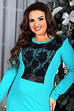 Нарядное женское платье в разных цветах , фото 7