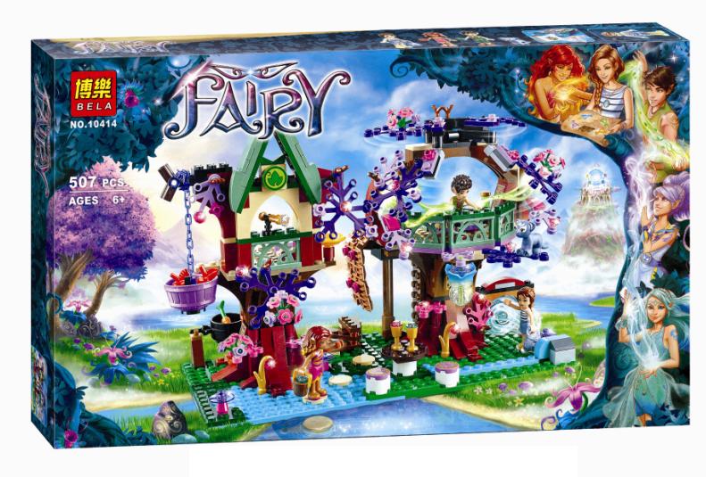 """Конструктор Bela Fairy 10414 аналог Lego Elves """"Убежище Эльфов"""", 507 деталей"""