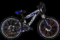 "Велосипед горный Titan Smart 24"" ( Black-Blue-White)"