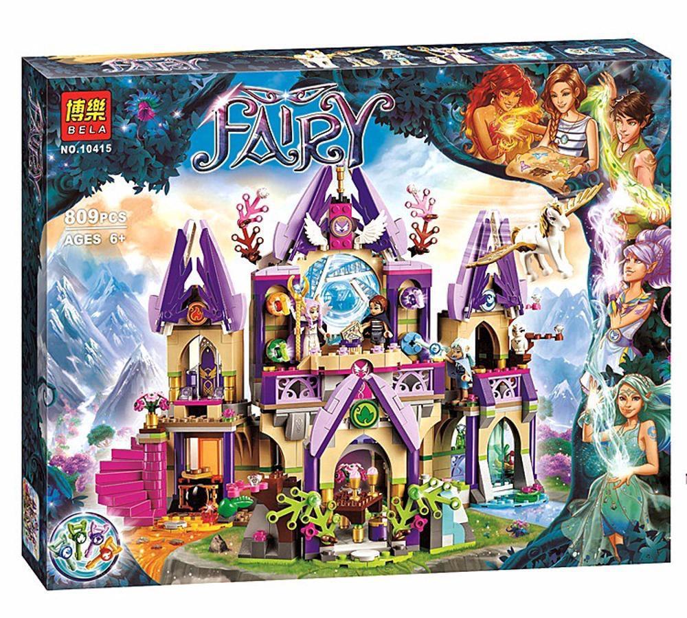 """Конструктор Bela Fairy 10415 аналог Lego Elves 41078 """"Воздушный замок Скайры"""", 809 дет"""