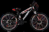 "Велосипед горный Titan Smart 24"" (Black-Red-White)"