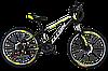 "Велосипед горный Titan Smart 24"" (Black-LightGreen-White)"