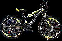 "Велосипед горный Titan Smart 24"" (Black-LightGreen-White), фото 1"