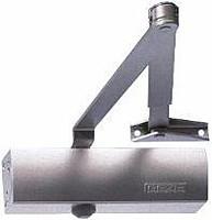 Доводчик дверной GEZE TS 2000 V BC EN 3/4/5. Локтевая тяга. Фиксация.
