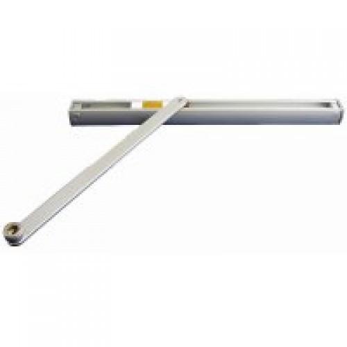 Слайдовая тяга к доводчику Geze TS 2000, 4000, цвет белый.