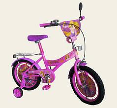 Детский велосипед 2-х колес 16'' Rapunzel