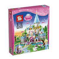 "Конструктор Disney Princess Sy325 (аналог Lego 41055) ""Романтический Замок Золушки"", 669 дет, фото 1"