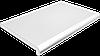 Подоконник глубина 100 мм, длина 1000 мм., Plastolit (Пластолит), мрамор матовый цвет.