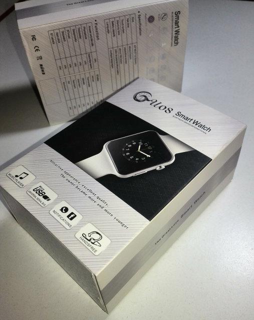Наручные электронные умные часы Smart Watch GU08 (аналог Apple Watch)