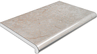 Подоконник глубина 450 мм, длина 1000 мм., Plastolit (Пластолит), бежевый мрамор глянцевый цвет., фото 2