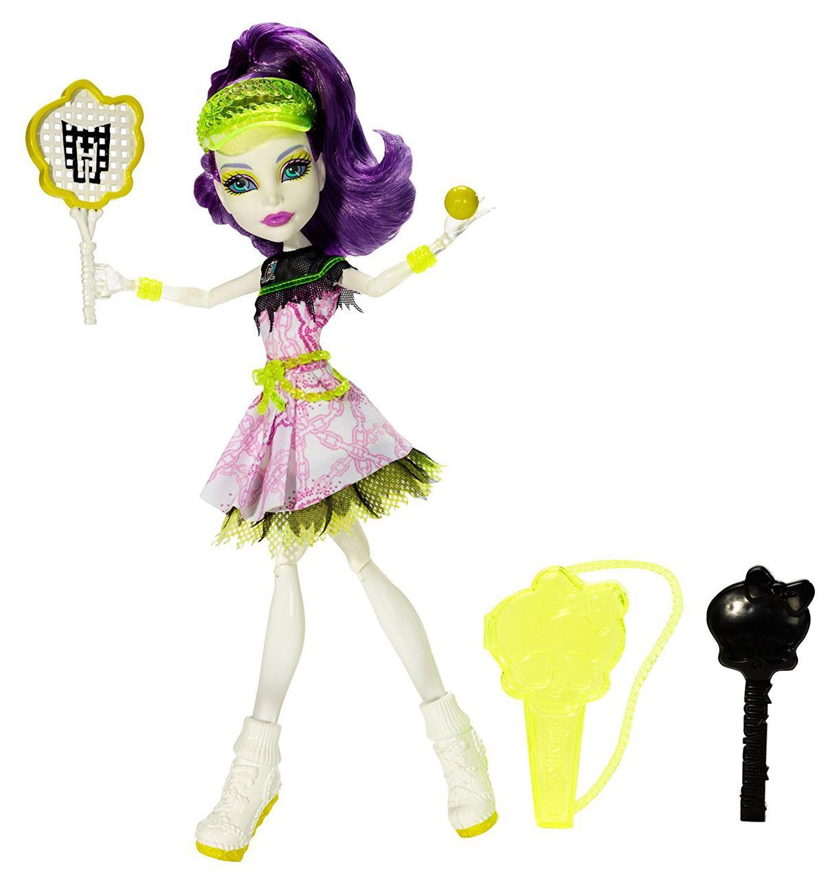 Кукла Монстер Хай Спектра Вондергейст Спорт Монстров Monster High Spectra Vondergeist Ghoul Sports Doll