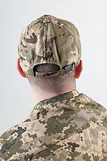 Бейсболка камуфляжная Мультикам НАТО, фото 3