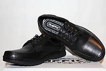 Туфлі чоловічі шкіряні 40/45 і 46/48 Traffic арт 303 чорні.