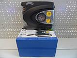 Компресор автомобільний 12В з ліхтарем, з функцією автоматичного відключення RAC625, фото 2